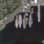 USS Ranger, USS Constellation, USS Kitty Hawk, USS Independence, Bremerton, Washington, USA
