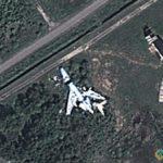 Plane Wreckage at Domodedovo Airport, Domodedovo, Moskovskaya oblast