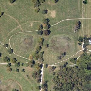 Cahokia Mounds, Collinsville, Illinois, USA