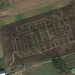 Corn Maze in Maryland, Mechanicsville, Maryland, USA