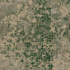 Irrigation Circles Patchwork, Kansas, USA