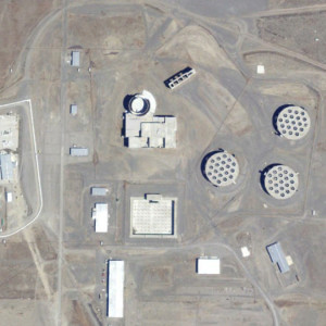 WPPS Failed Construction, Hanford Site, Washington, USA