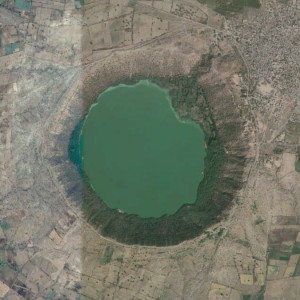 Lonar Lake, Lonar, Maharashtra, India