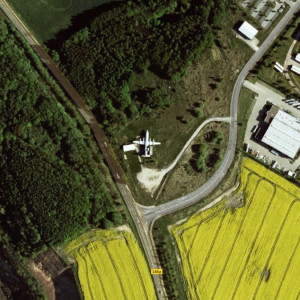 Roadside Plane, Harbke, Germany
