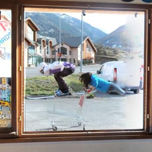 Skiing? Flying? Quidditch?, Briançon, France