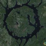 Manicouagan Reservoir, Rivière-aux-Outardes, Quebec, Canada