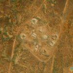 Australian Desert Mounds, Woomera, South Australia, Australia