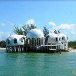 Dome Homes, Cape Romano, Florida, USA