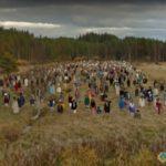 Scarecrow Field, Kainuu, Finland