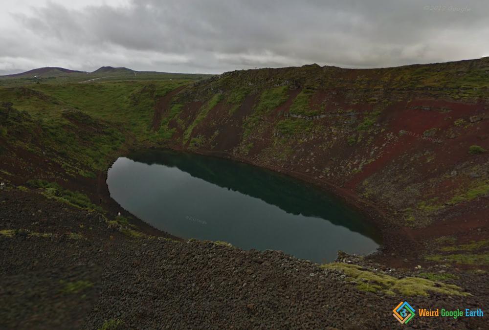 Kerid Crater Lake, Selfoss, Iceland