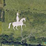 Osmington White Horse, Weymouth, United Kingdom