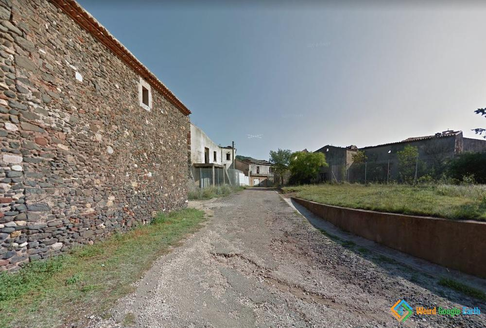 Abandoned Town of Celles, Celles, France