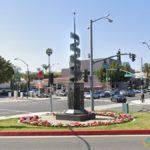 Celluloid Monument, Beverly Hills, California, USA