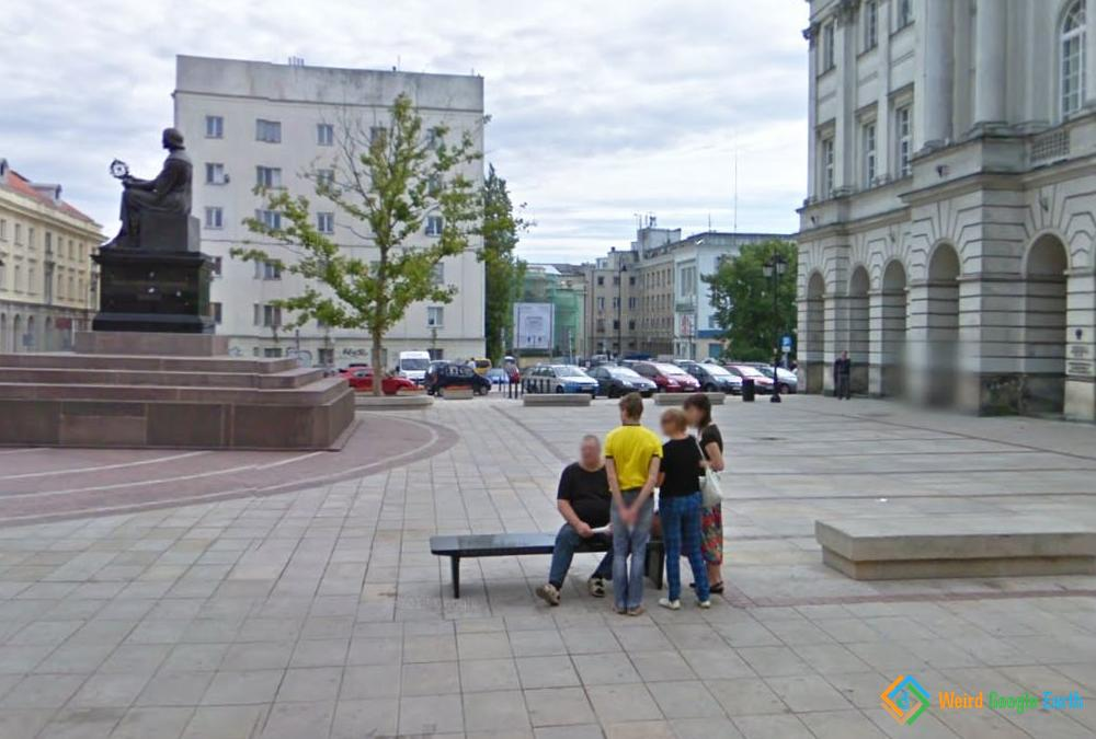 Chopin Benches in Warsaw, Warsaw, Poland