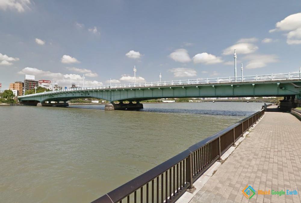 Kototoi Bridge, Tokyo, Japan