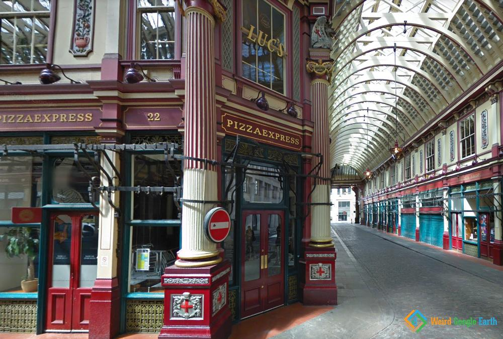 Leadenhall Market, London, England