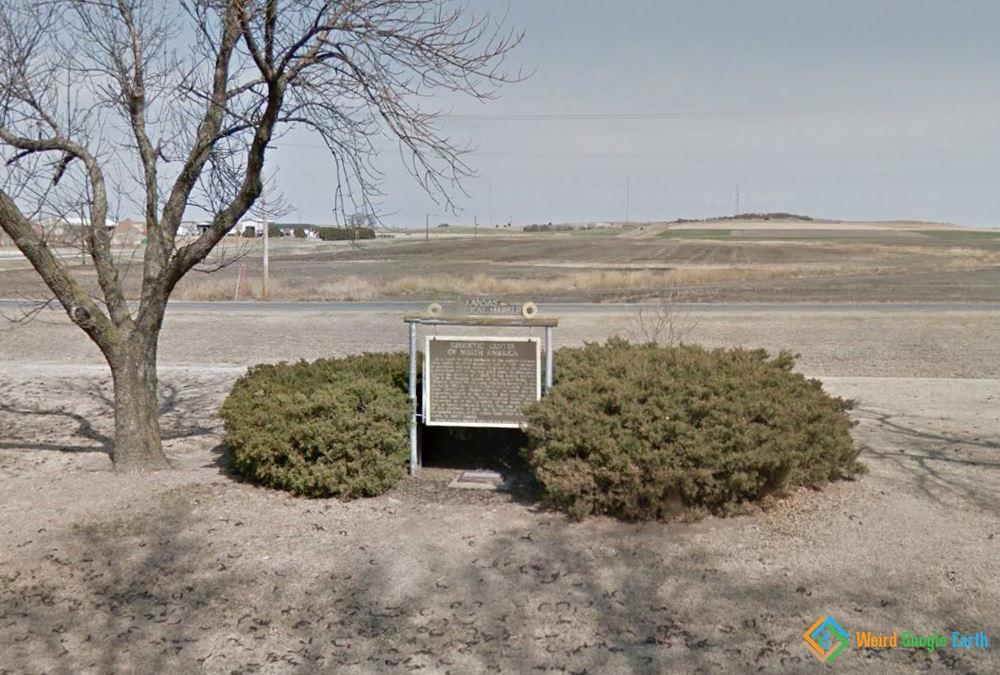 Geodetic Center of North America, Osborne, Kansas, USA