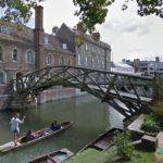 Mathematical Bridge, Cambridge, England
