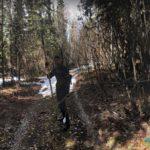 Modern Day Hunter, Eagle, Alaska, USA