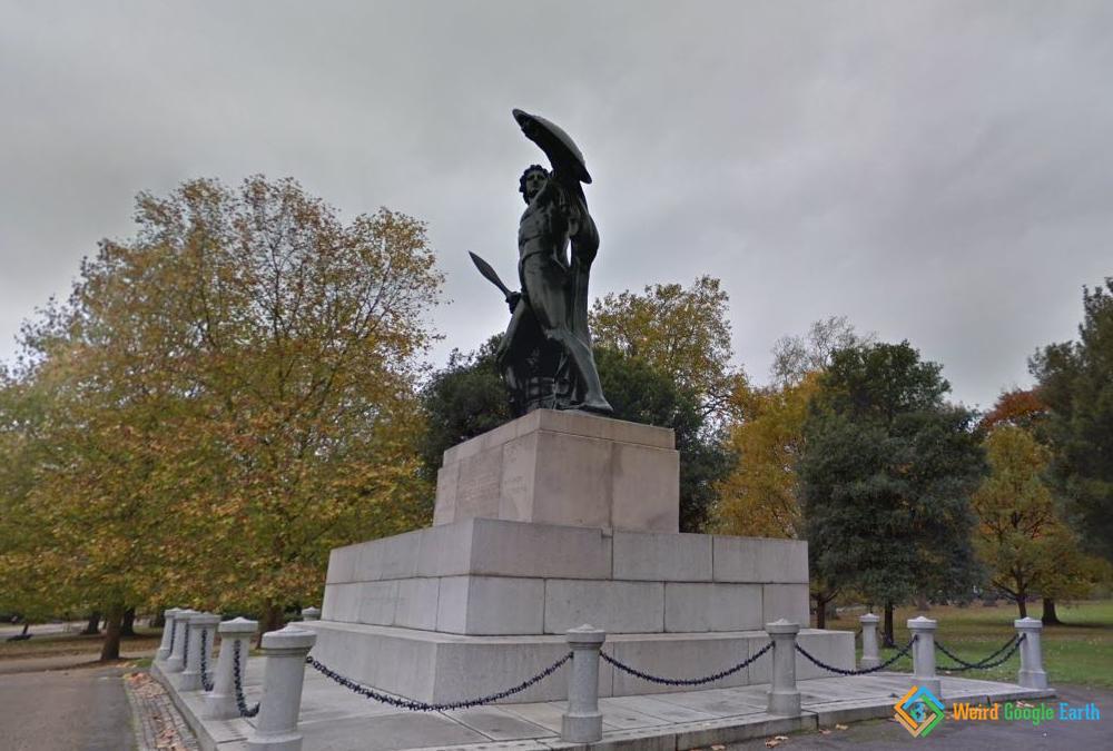 Wellington Monument, London, England
