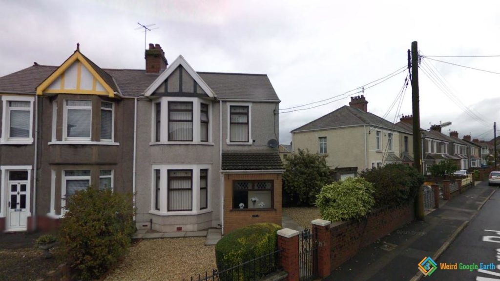 Anthony Hopkins' Childhood Home, Port Talbot, Wales