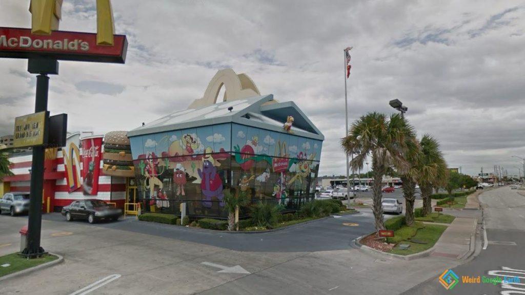 Mc Donald's Happy Meal Restaurant, Dallas, Texas, USA