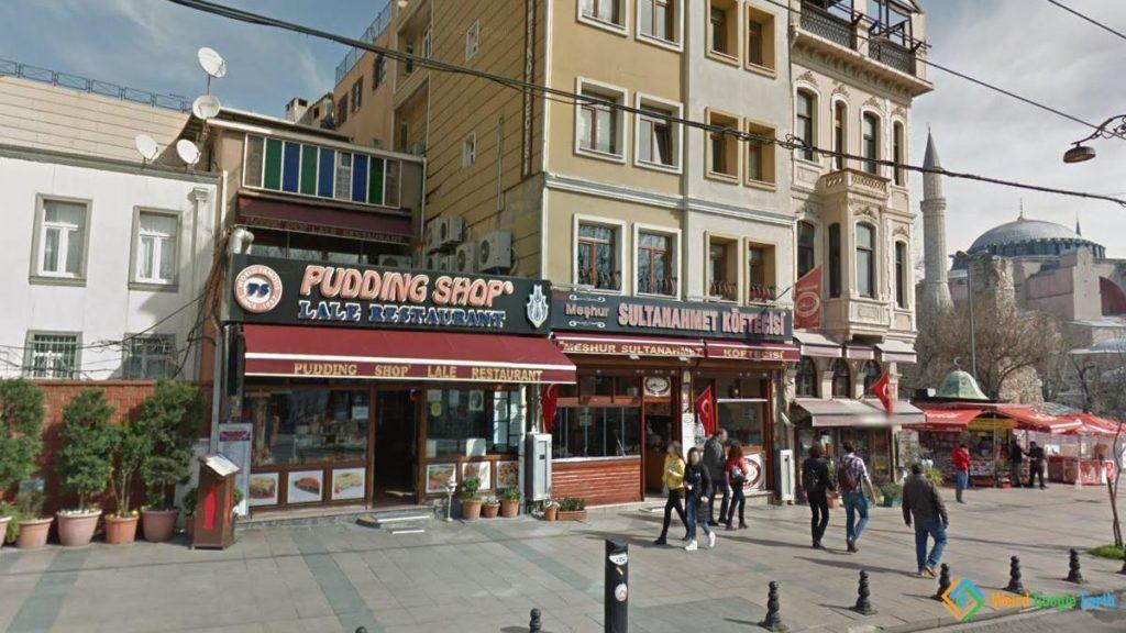 Pudding Shop, Istanbul, Turkey