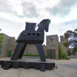 Replica of Trojan Horse, Alicante, Spain
