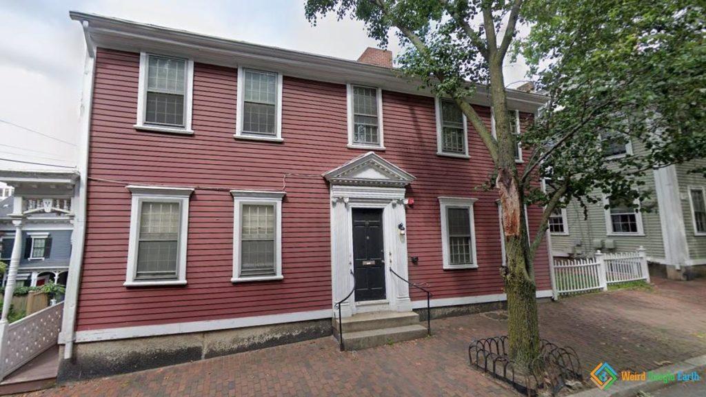 Sarah Helen Whitman's House, Providence, Rhode Island, USA