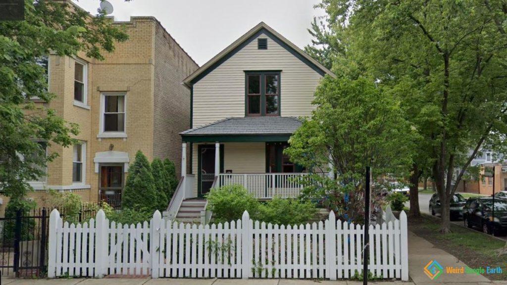 Walt Disney's Childhood Home, Chiago, Illinois, USA