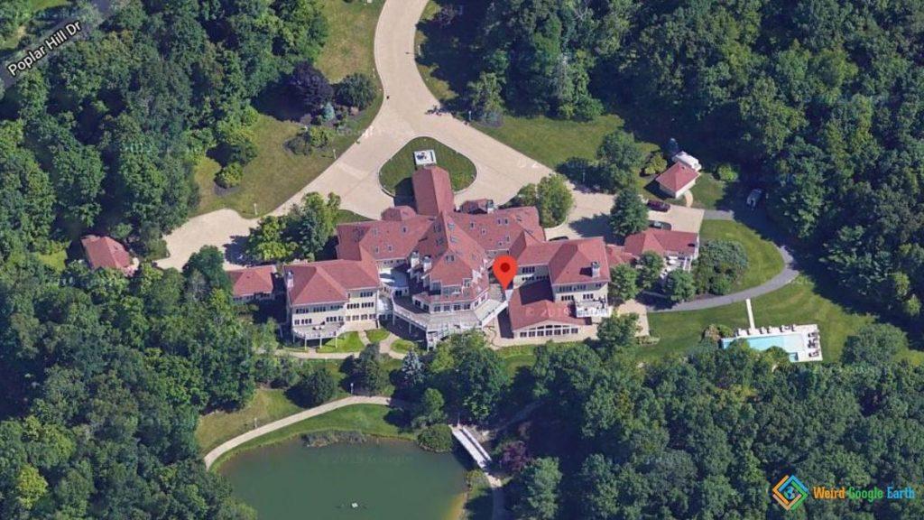 50 Cent's House, Farmington, Connecticut, USA