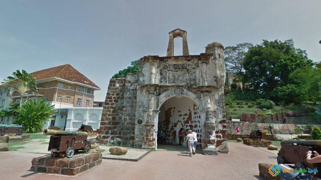 A Famosa , Melaka, Malaysia