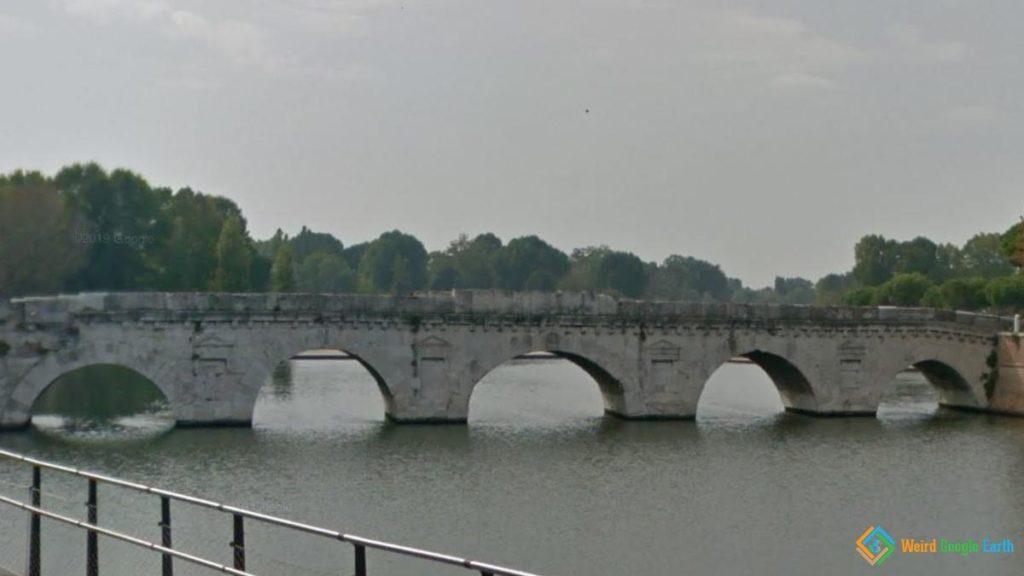 Bridge of Tiberius, Rimini, Italy