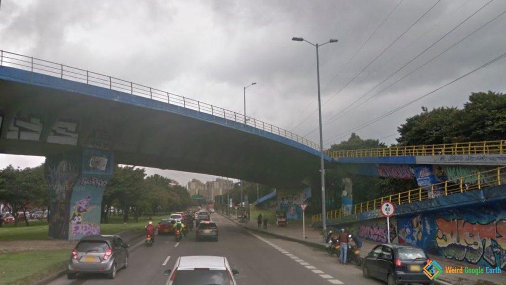 Felipe Becerra's Bridge, Bogotá, Colombia