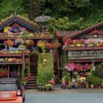 Flower House, Seattle, Washington, USA