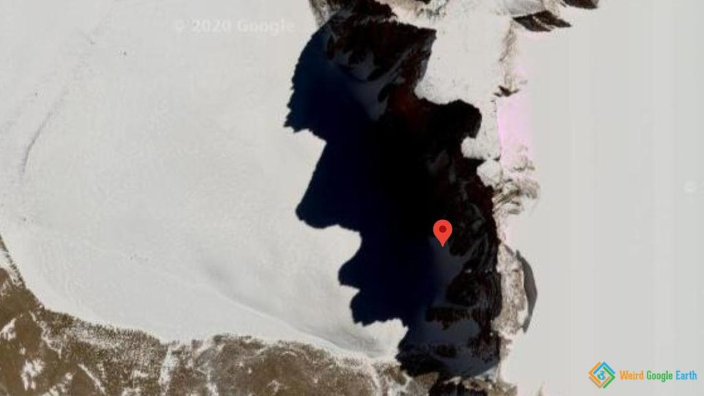 Human Face in Antarctica, Antarctica
