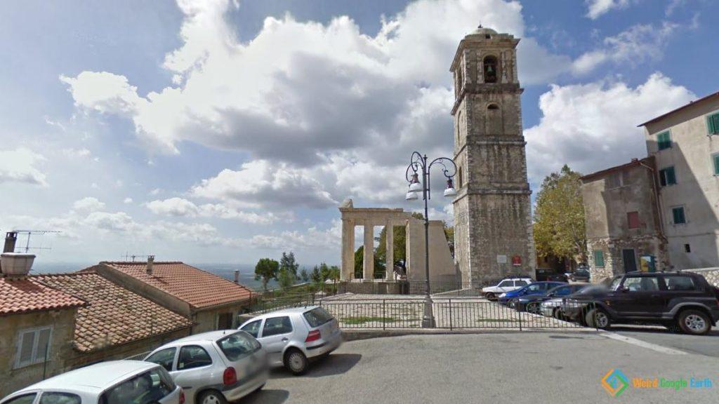 Temple of Hercules, Cori, Italy