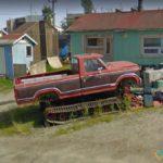 Modified Truck, Yellowknife, Northwest Territories, Canada