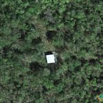 The Lone Building, Big Cypress, Florida, USA
