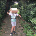 Box Man, Dortmund, Germany