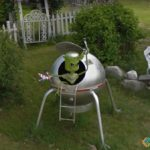 Aliens in America, New Gloucester, Maine, USA