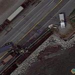 Truck Collision, British Columbia, Canada