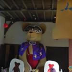 Giant Teddy Bear, Sasebo, Japan