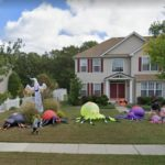 This Extravagant Halloween Setup, Egg Harbor Township, New Jersey, USA
