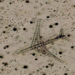 Airplane Skeleton, Inyo County, California, USA