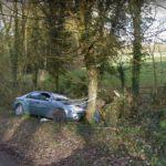 Remnants of a Crash, Millfield Lane, England