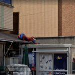 Spiderman in Japan Again, Matsudo, Japan