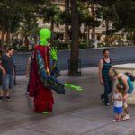 Alien in Las Vegas, Las Vegas, Nevada, USA
