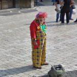 Creepy Clown, Krakow, Poland